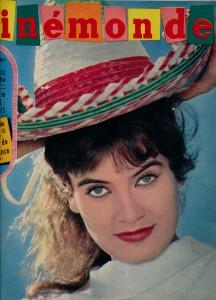 Marisa Mell Cinémonde 2 aout 1960