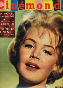 Sandra Dee (cinémonde 23 aout 1960) riowestern.com