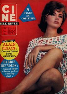 Sylva Koscina (ciné revue 14 février 63)