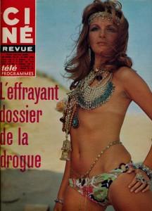 Agnès Spaak 21-11-68 Cine revue