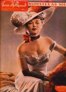 Ann Sheridan mode 1900 Paris-Hollywood