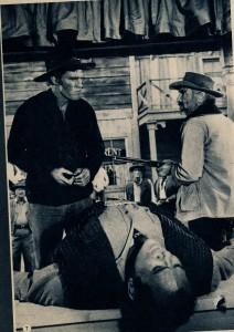 Chuck Connors & Buddy Baer, Marqué au fer