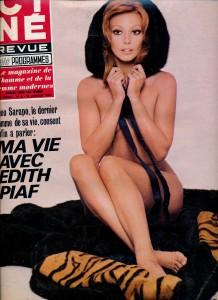 Claudie Lange (janvier 70 cinérevue)