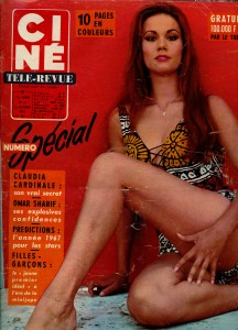 Claudine Auger (1-12-1966) Ciné revue_NEW