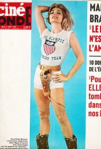 Dorothée Blank Cinémonde avril 1965
