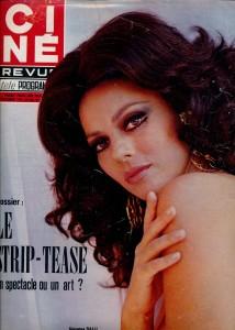 Giovanna Ralli (ciné revue 1971)