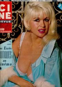 Jayne Mansfield (ciné revue 6 avril 67)