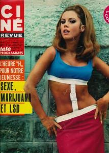 Jocelyn Lane Ciné revue 24 aout 67
