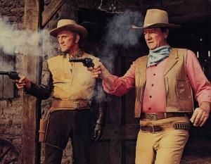 John Wayne Kirk Douglas