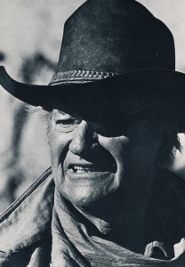John Wayne dans Le dernier des géants