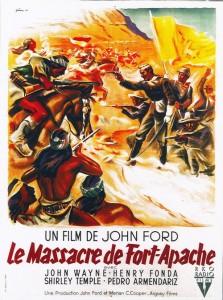 Le massacre de Fort Apache - John Wayne