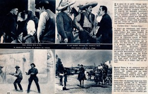 Le retour des sept (ciné revue février 67)