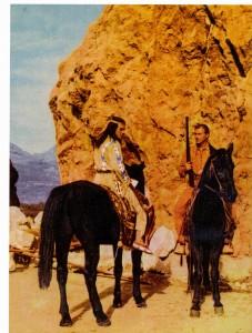 Les cavaliers rouges Pierre Brice lex barker