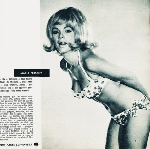 Maria Perschy (Cinémonde sept. 1965)