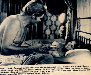Marqué au fer rouge ( ciné-revue 19-1-67) Kathryn Hayes