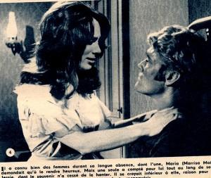 Marqué au fer rouge ( ciné-revue 19-1-67) Marissa Mathes