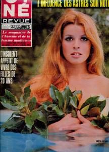 Senta Berger mars 1970 Cinérevue