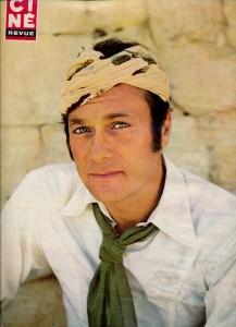 Tony Curtis juin 1970 Cinérevue