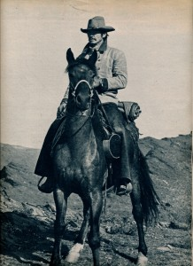 Charles Bronson Wild horses Ciné revue 1972