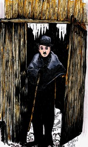 Charles Chaplin by Didgiv