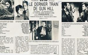 Dernier train de gun hill Télé 7 J