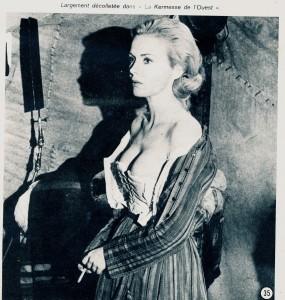 Jean Seberg - La kermesse de l'Ouest (cinerevue aout 1971)