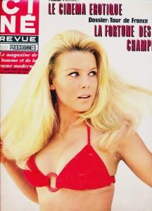 Katia Christina (juillet 1970 cinérevue)