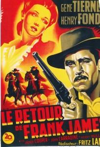 Le retour de Frank James-Henry Fonda-Gene Tierney