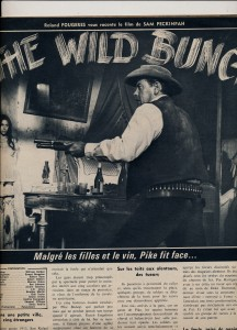 La horde sauvage (cinérevue mai 1969)