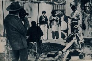 Daliah Lavi sur le tournage de Catlow 1971 - Ciné revue