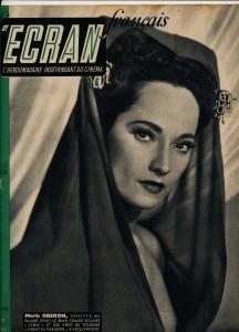 Merle Oberon L'écran français 31 juillet 1946