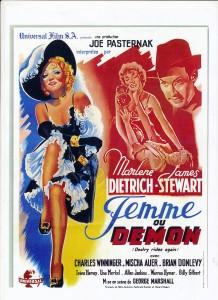 Femme ou démon (Marlène Dietrich) riowestern.com