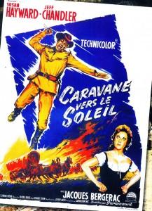 La caravane vers le soleil -Susan Hayward