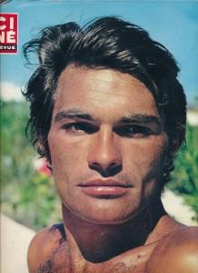 Luc Merenda (juillet 1970 cinérevue)