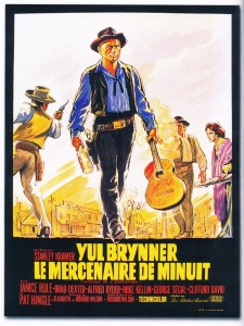 Le mercenaire de minuit - Yul Brynner