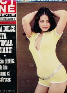 Ornella Mutti ciné-revue 1974