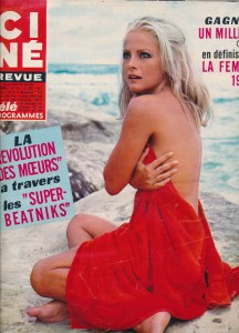 Virna Lisi cinerevue december1967