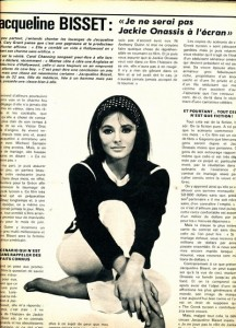 Jacqueline Bisset-interview 1977 - cinerevue
