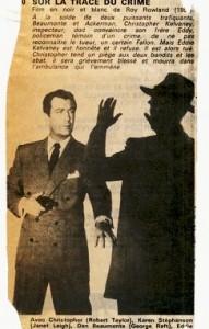Sur la trace du crime - Robert Taylor