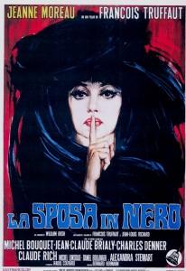 La mariée était en noir -Jeanne Moreau