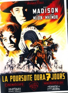 La poursuite dura 7 jours - Guy Madison