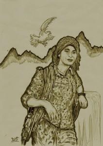 kurde au combat